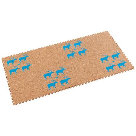 たまひよSHOP【SALE】コルクマット 8枚組 ブルー たまひよSHOP