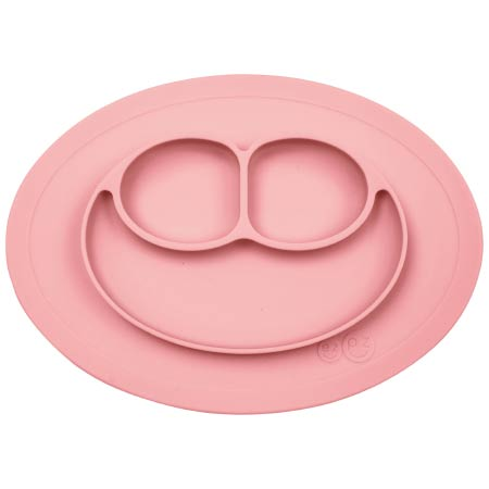 【SALE】イージーピージーミニマット シリコーン食器 ローズピンク たまひよSHOP