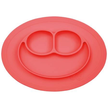 たまひよSHOP【SALE】イージーピージーミニマット シリコーン食器 コーラル たまひよSHOP