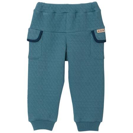 【SALE】PIMA COTTON 接結裾リブあったかパンツ ブルー たまひよSHOP