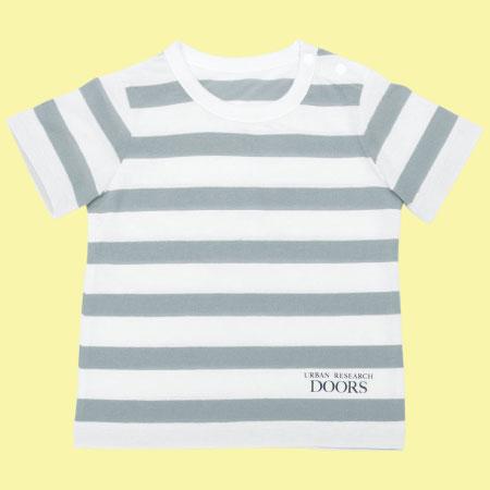 アーバンリサーチドアーズ ユニセックスボーダーTシャツ 子ども用 たまひよSHOP