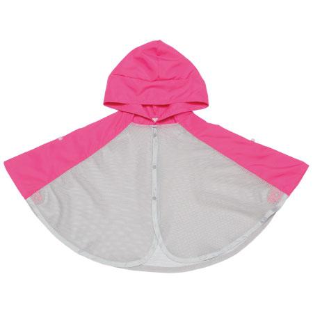 【SALE】インセクトシールド 虫よけ涼やか切り替えケープ ピンク たまひよSHOP