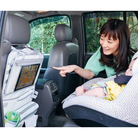 【SALE】アーバンリサーチドアーズ タブレット・スマホも入る透明窓つき!トレイ付ドライブポケット たまひよSHOP