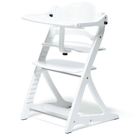 【送料無料】sukusuku+すくすくチェア プラス テーブル付 ホワイト たまひよSHOP