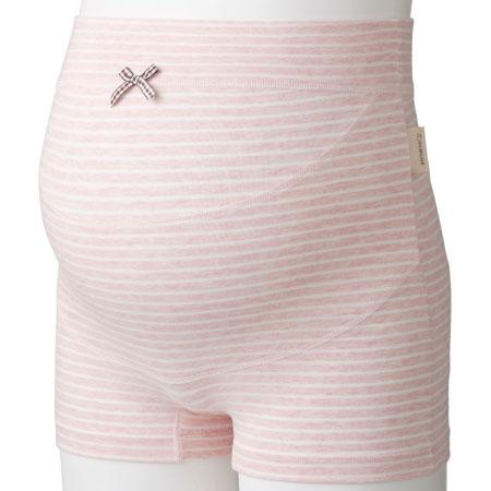 犬印本舗 ママと共同開発 らくばきパンツ妊婦帯 ピンク たまひよSHOP