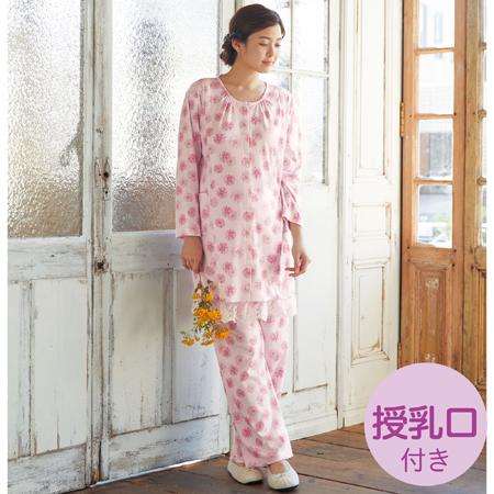 sweet nightieガーベラ柄パジャマ ピンク たまひよSHOP
