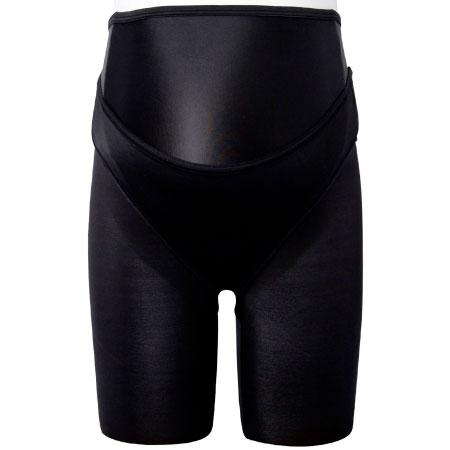 ワコール 妊婦帯ロング丈(パンツタイプ)-しっかり- ブラック たまひよSHOP