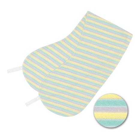 丸洗いで清潔!妊娠-授乳用お助け抱き枕(カバーのみ) パイルボーダー たまひよSHOP