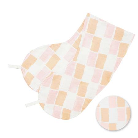 丸洗いで清潔!妊娠-授乳用お助け抱き枕(カバーのみ) ブリック(消臭抗菌) たまひよSHOP