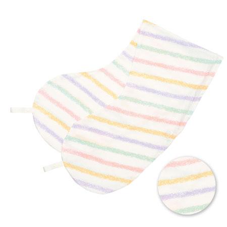 丸洗いで清潔!妊娠-授乳用お助け抱き枕(カバーのみ) クレヨンボーダー(透湿防水) たまひよSHOP