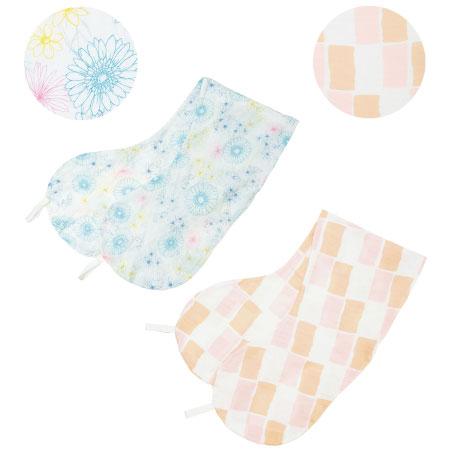 【送料無料】丸洗いで清潔!妊娠-授乳用お助け抱き枕カバー2枚組 カラフル×ブリック(消臭抗菌) たまひよSHOP