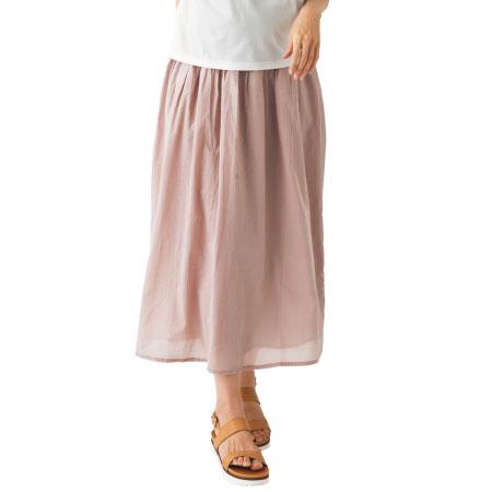 Petit Cocoon ボイル素材のマタニティスカート ダスティピンク たまひよSHOP