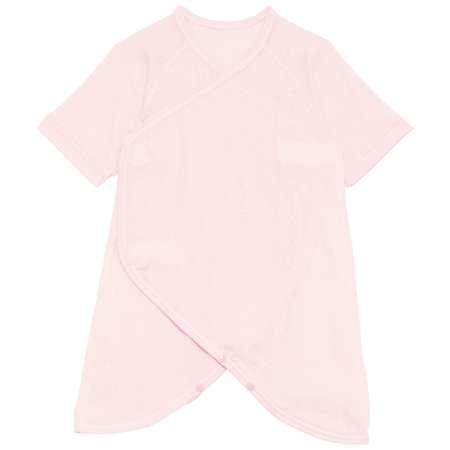 Baby Kurumii プレミアムワンタッチコンビ肌着 ピンク