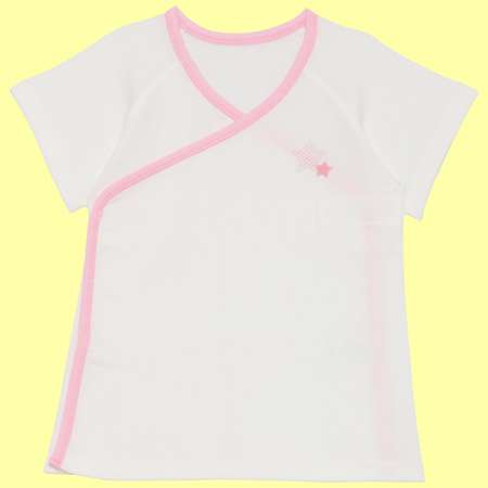 Baby Kurumii ワンタッチ短肌着 ピンク たまひよSHOP
