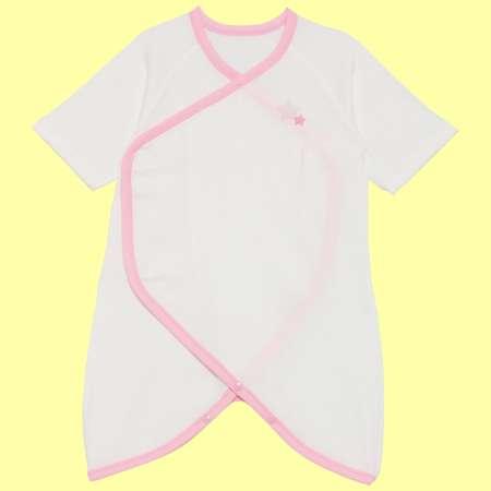 Baby Kurumii ワンタッチコンビ肌着 ピンク たまひよSHOP