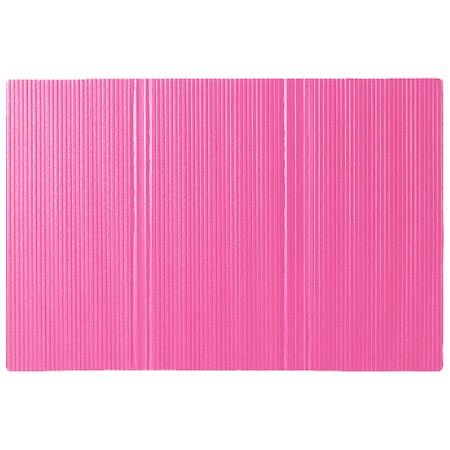 パタッとたためる ふかふかバスマット ピンク たまひよSHOP