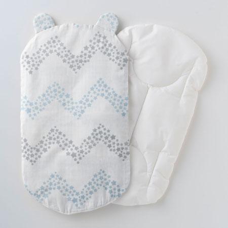 丸洗いできる!生まれてすぐから使う赤ちゃんの安心抱っこふとん(本体+カバー1枚) シェブロン たまひよSHOP