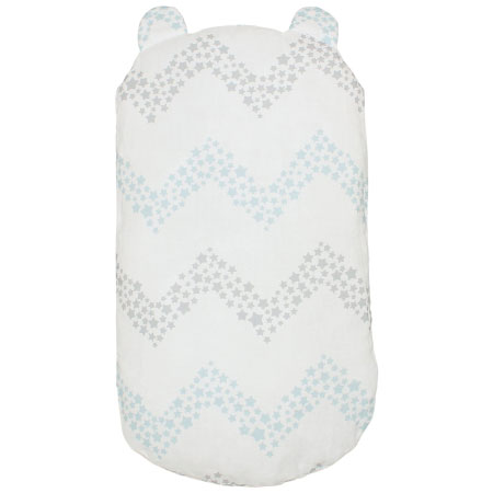 丸洗いできる!生まれてすぐから使う赤ちゃんの安心抱っこふとん (カバー1枚/クッション本体なし) シェブロン たまひよSHOP