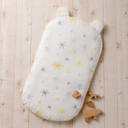 丸洗いできる!生まれてすぐから使う赤ちゃんの安心抱っこふとん (カバー1枚/クッション本体なし) スター たまひよSHOP