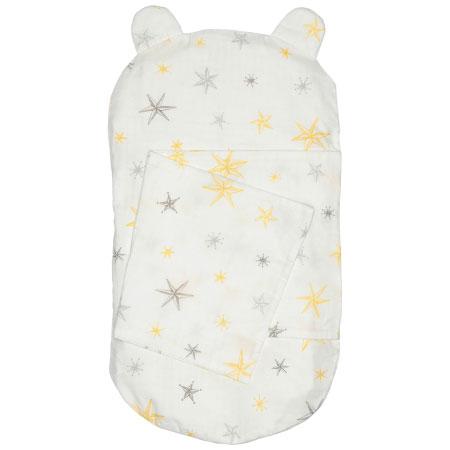 ケットでくるめて丸洗いできる!生まれてすぐから使う赤ちゃんの安心抱っこふとん(カバー1枚) スター たまひよSHOP