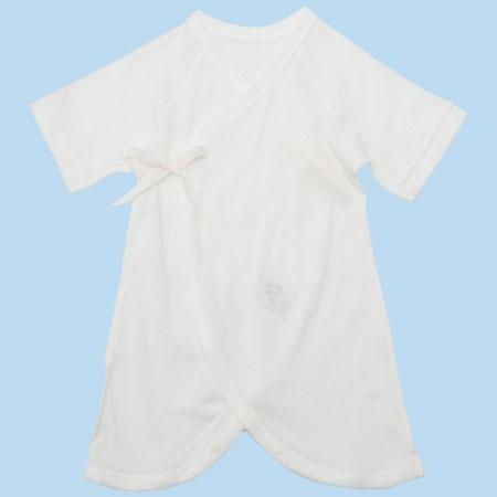 小さく生まれた赤ちゃんのための新生児コンビ肌着 ホワイト たまひよSHOP
