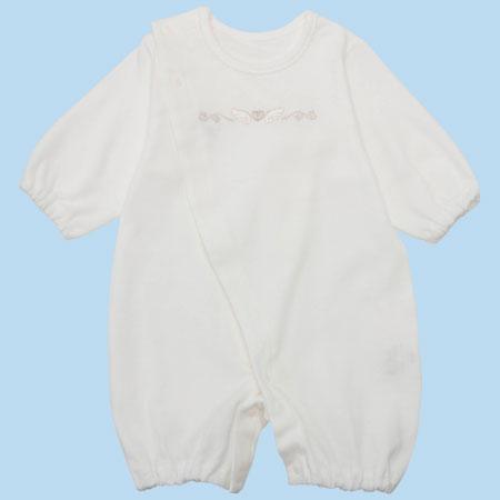 赤ちゃんには体にぴったり合うウエアを 一般的なベビー肌着のいちばん小さいサイズでも、小さく生まれた赤ちゃんにはサイズが合わないことも。汗を吸収させたり、保温や抱っこを安定させるためにも、サイズの合ったウエアを着用させましょう。やわらかなスムース素材だから肌あたりも良好です。 小さく生まれた赤ちゃんのための新生児ウエア11点セット 小さく生まれた赤ちゃんのための新生児短肌着2点セット 小さく生まれた赤ちゃんのための新生児コンビ肌着 ※サイズ選びに迷ったら…こちら ※返品不可商品です(不良品以外)。詳細は こちら 。 小さく生まれた赤ちゃん・低出生体重児に関する記事はこちら●サイズ(cm)/着丈41・身幅23・股下9.5・袖丈17 ●素材/本体:綿100% ●生産国/日本 ■洗濯機洗い可 ■返品不可