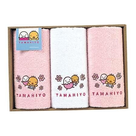 たまひよオリジナル ハンドタオル3P ピンク たまひよSHOP・たまひよの内祝い