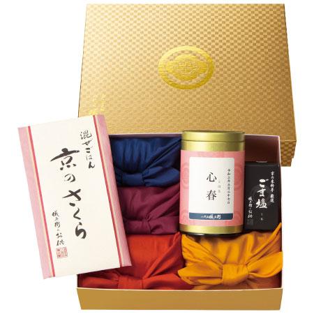 【送料無料】【期間限定】八代目儀兵衛 名入れお米ギフト京のさくらA たまひよSHOP・たまひよの内祝い