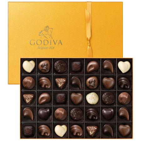 【送料無料】【期間限定】ゴディバ ゴールドコレクション35粒入 たまひよSHOP・たまひよの内祝い