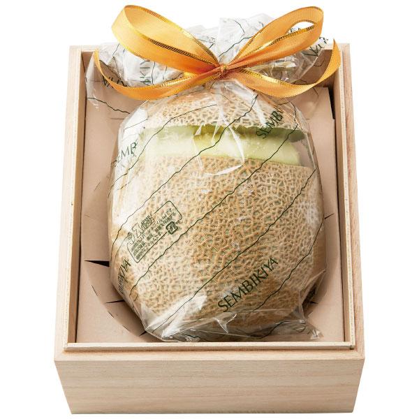 【送料無料】【期間限定】千疋屋 丸ごとメロンシャーベット (風呂敷包み) たまひよSHOP・たまひよの内祝い