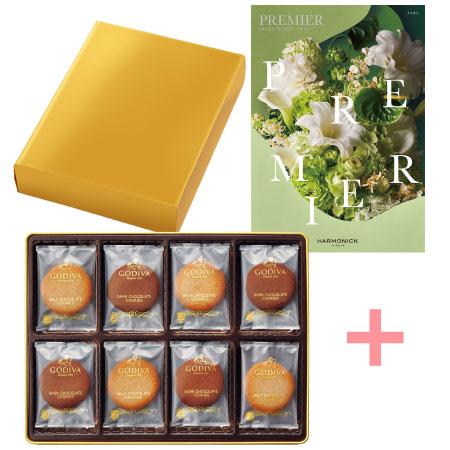 【送料無料】【期間限定】ゴディバ クッキーアソートメント32枚入とプルミエ ミニョン〈特別包装〉 たまひよSHOP・たまひよの内祝い