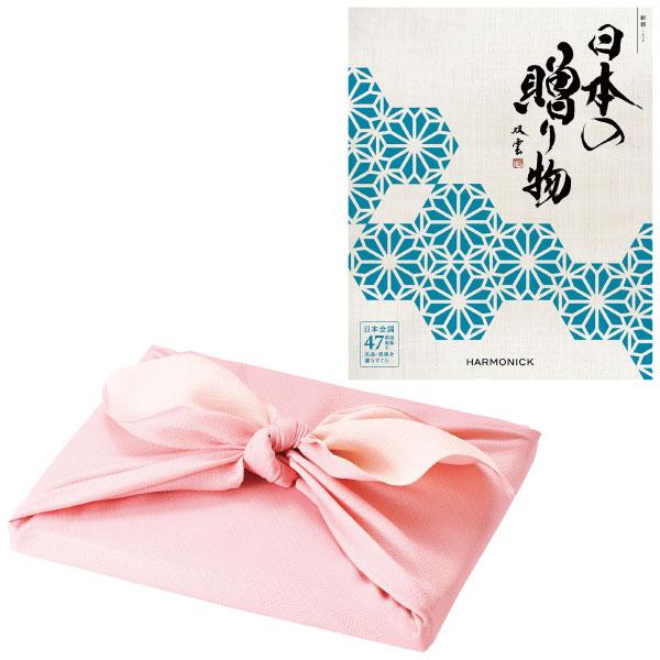 【送料無料】【期間限定】日本の贈り物 紺碧 風呂敷包み〈桜色〉 たまひよSHOP・たまひよの内祝い