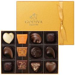 <たまひよSHOP> 送料無料!【期間限定】ゴディバ ゴールドコレクション12粒入・たまひよの内祝い