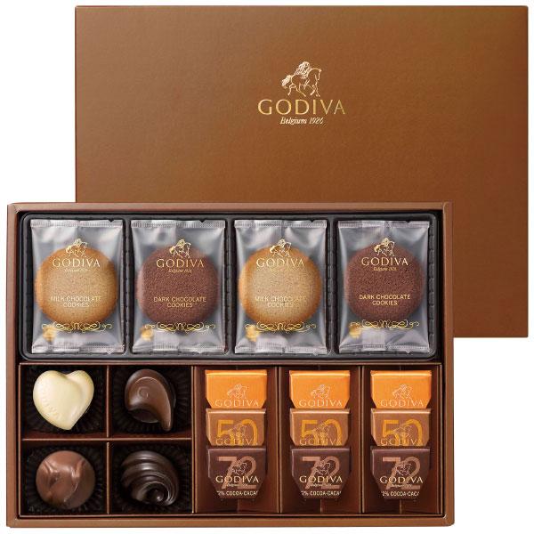 【期間限定】ゴディバ クッキー&チョコレートアソートメントA