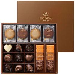 <たまひよSHOP> 送料無料!【期間限定】ゴディバ クッキー&チョコレートアソートメントB・たまひよの内祝い