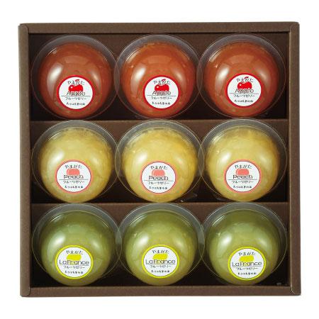 【送料無料】【期間限定】たかはた果樹園 山形産フルーツのゼリー詰合せB たまひよSHOP・たまひよの内祝い