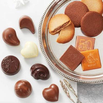 【期間限定】ゴディバ クッキー&チョコレート アソートメントB〈特別包装〉