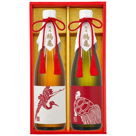 【送料無料】【期間限定】越後鶴亀 日本酒2本セット たまひよSHOP・たまひよの内祝い