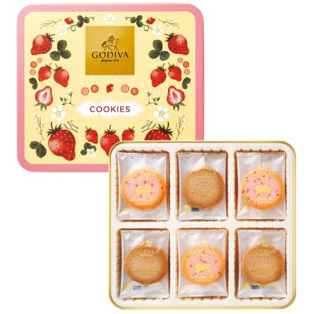 【期間限定】ゴディバ あまおう苺クッキーアソートメント18枚入 たまひよSHOP・たまひよの内祝い