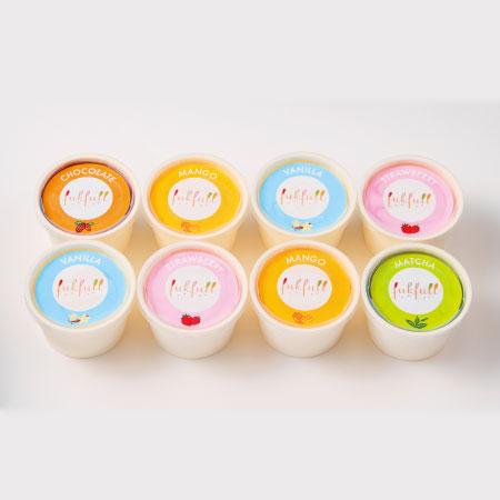 【送料無料】【期間限定】フクフル 北海道産生クリーム入りアイス8個 たまひよSHOP・たまひよの内祝い