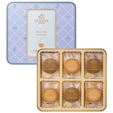 【送料無料】【期間限定】ゴディバ ミルクティークッキーアソートメント18枚入 たまひよSHOP・たまひよの内祝い