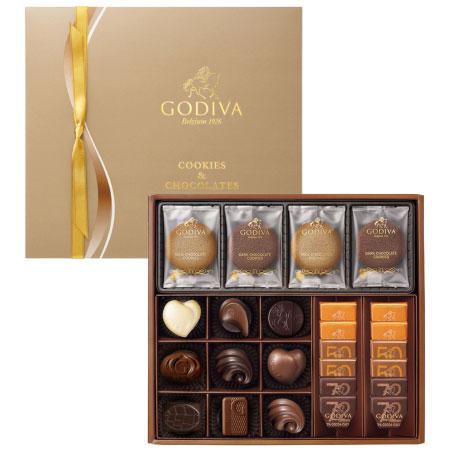 【送料無料】【期間限定】ゴディバ クッキー&チョコレートアソートメントギフトB たまひよSHOP・たまひよの内祝い
