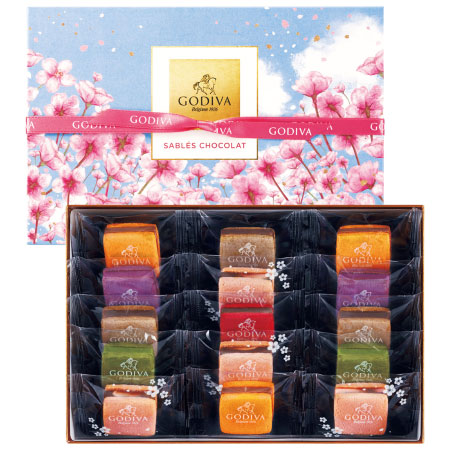【送料無料】【期間限定】ゴディバ サブレショコラ桜15個入 たまひよSHOP・たまひよの内祝い