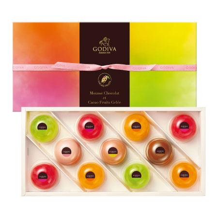 【送料無料】【期間限定】ゴディバ ムースショコラ エ カカオフルーツジュレ11個入 たまひよSHOP・たまひよの内祝い