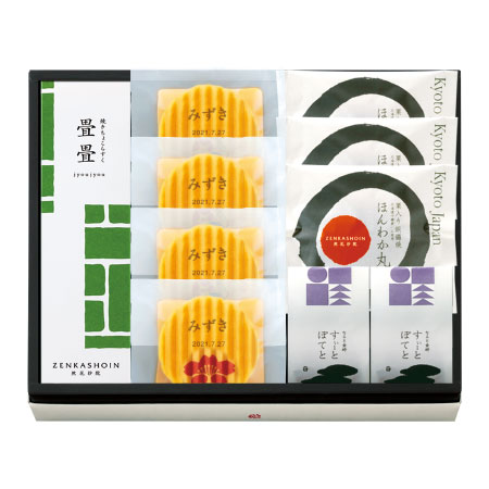 【送料無料】【期間限定】ZENKASHOIN 名入れお菓子セットA 桜 たまひよSHOP・たまひよの内祝い