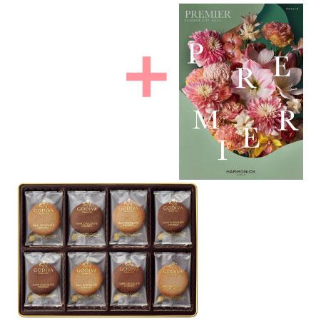 【送料無料】ゴディバ クッキーアソートメント32枚入とプルミエ マニフィーク たまひよSHOP・たまひよの内祝い