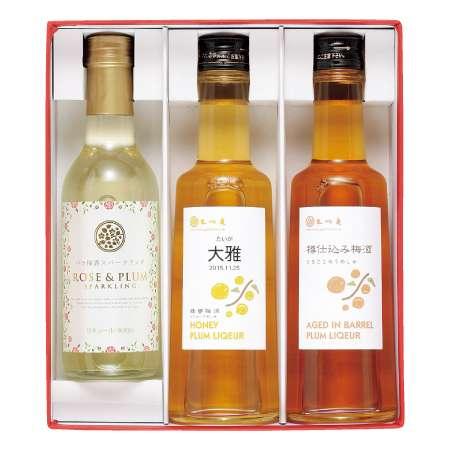 【送料無料】五代庵 名入れ梅酒セット3本 たまひよSHOP・たまひよの内祝い