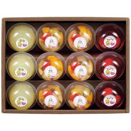 【送料無料】たかはた果樹園 たまひよ名入れフルーツゼリー詰合せ12個 たまひよSHOP・たまひよの内祝い