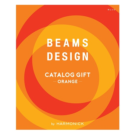 BEAMS CATALOG GIFT Orange_