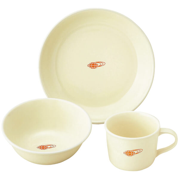 【送料無料】BEAMS 毎日の食器3ピースセット ホワイト たまひよSHOP・たまひよの内祝い